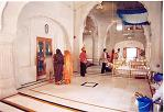Inside t he Akal Takht